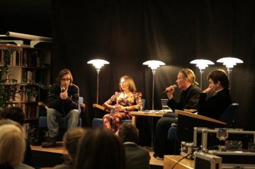 Vasemmalta Astvatsaturov, Slavnikova, Huttunen ja Gluhovski. Kuva Hanni Hyvärinen